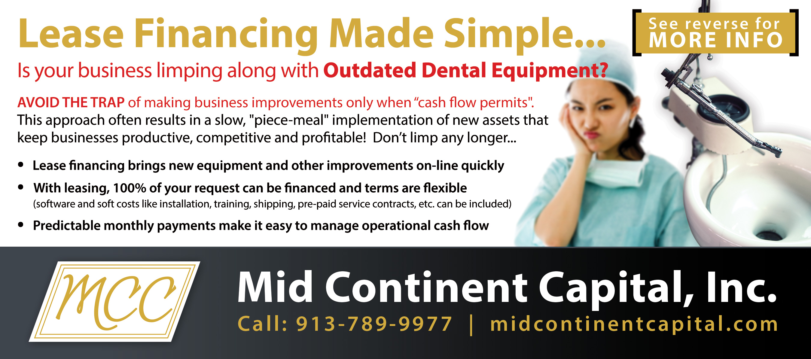 dental lease financing information
